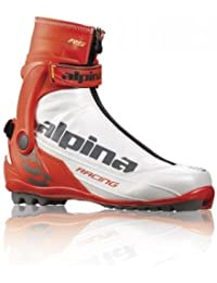 Alpina RS Racing Skate Zapatillas de running, rojo y blanco, 38