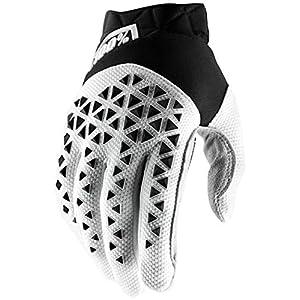 100% Bike-Handschuhe Airmatic Weiß/Schwarz/Silber