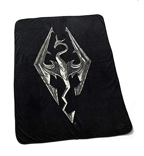 Meroncourt The Elder Scrolls V Skyrim Dragon Symbol Embroidered ... 36f956effbc2