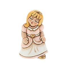 Idea Regalo - THUN F2333H90B Bimba Principessa, Ceramica, Multicolore, 6.2 x 5.5 x 8.6 cm