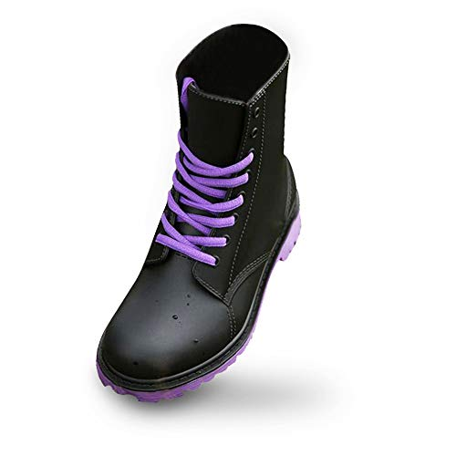 UniEco Waterproof Lace-up Women Rain Boots Easy On&Off Short Ankle Wellies for Women PVC Water Shoes