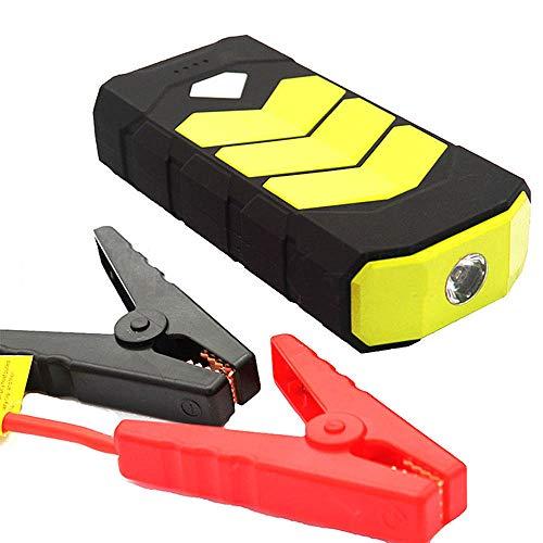 Autobatterie Jump Starter, Super Power 20000mAh Car Jump Starter Power Bank 12V Portable Starting Device Petrol Diesel-Ladegerät für Autobatterie-Booster,Yellow