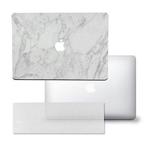 sojitek MacBook Pro 33cm-Marmor Serie Full Schutz Vinyl Art Haut/Aufkleber Aufkleber Cover-[Parent] White Marble Series (Macbook Pro Vinyl-haut)
