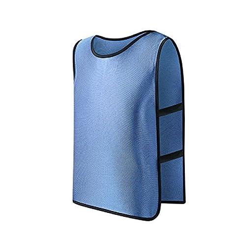 HittecH La Formation de L'équipe De Foot en Mêlée de Basket Pour Les Jeunes Adultes Des Maillots de Football Des épinglettes (bleu)