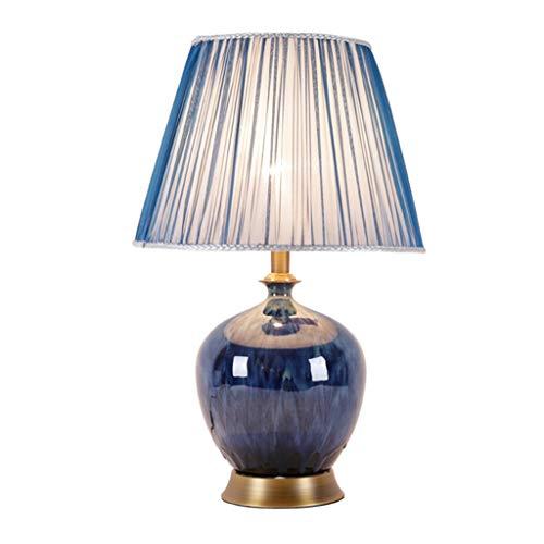 Lampes de table Moderne Minimaliste en Céramique en Cuivre Étude Salon Chambre Lampe De Chevet Vase Creative