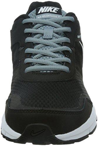 Nike Air Relentless 4, Scarpe sportive, Uomo Nero / Bianco / Grigio (Black / White-Magnet Grey)