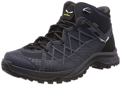SALEWA MS Wild Hiker Mid GTX, Stivali da Escursionismo Alti Uomo, Nero (Black out/Silver 982), 42 EU