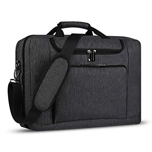 BERTASCHE Laptoptasche 17 Zoll - 17,3 Zoll Herren Business Tasche für Arbeit Aktentasche Groß