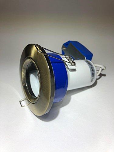 Click 400CF400240V GU1011W fluoreszierende Reflektor Feste Downlighter mit Feuchtigkeit seal- integrierte Fire & akustische Barriere (Fluoreszierende Innenbeleuchtung)