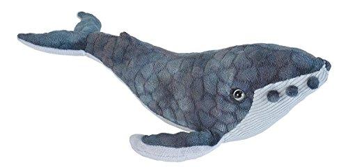 Wild Republic 22453megattera di peluche, blu, 20cm