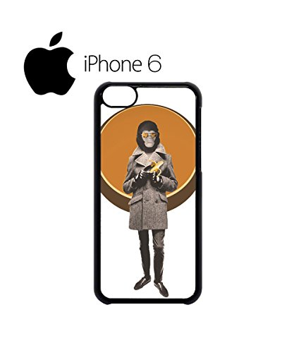 Monkey Head Banana Swag Mobile Phone Case Back Cover Hülle Weiß Schwarz for iPhone 6 White Weiß