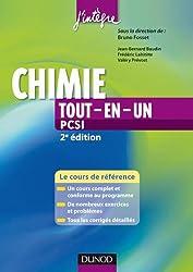 Chimie tout-en-un PCSI - 2e édition - Cours et exercices corrigés