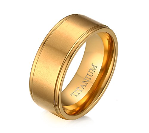 vnox-mens-titanium-band-comfort-fit-18k-gold-plated-domed-beveled-edge-wedding-engagement-ring-8mm
