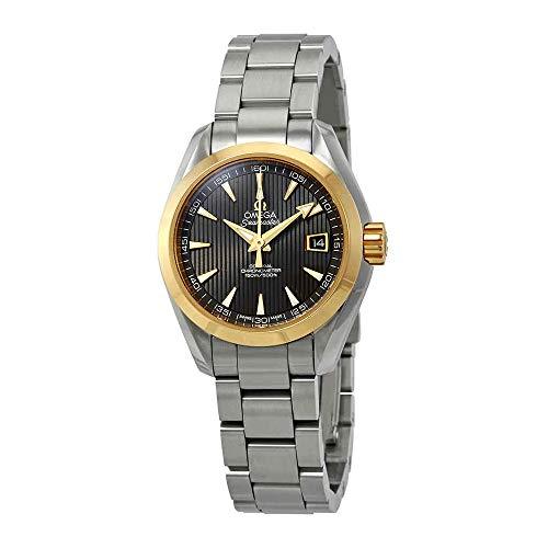 Omega Seamaster Aqua Terra orologio da donna con cronometro automatico, quadrante grigio, 231.20.30.20.06.004