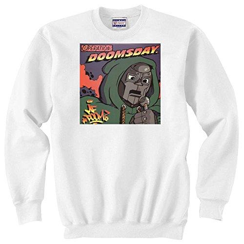 MF Doom operazione Doomsday Logo Unisex Sweater bianco xxl
