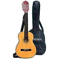 Bontempi - Guitarra clásica de Madera y Bolsa de Transporte, 75 cm (Spanish Business Option Tradding 21 7521)