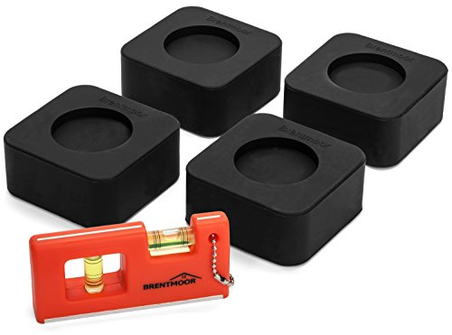 brentmoor-rubber-anti-vibration-pads-for-washer-and-dryers-complete-w-mini-level