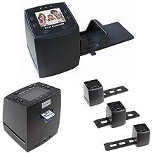 Ckeyin® FS01 - Escáner de negativos y diapositivas (10 Mpx, pantalla de 2,4 pulgadas, 2400 ppp / 3600 ppp, 10 bits por canal de color, salida de AV)