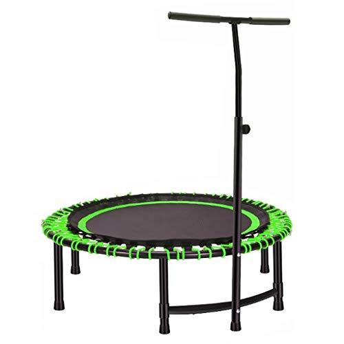 Rebounder-Trampolin for Erwachsene, Quiet and Safe Bounce for Erwachsene, Heimaerobic lI (Color : Green)