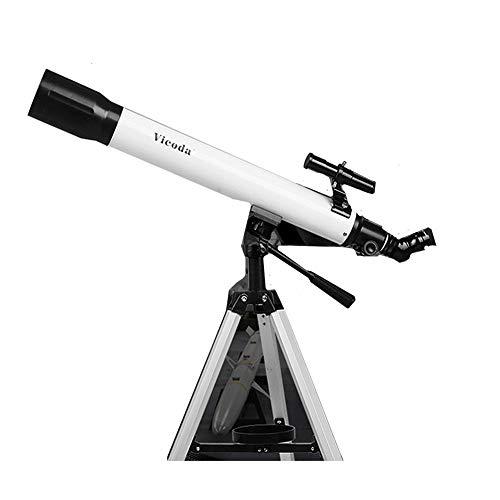DDSGG Kinderteleskop, Science Astronomical Telescope Tripod 2 Vergrößerungsokulare, Lernspielzeug zum Beobachten von Vögeln