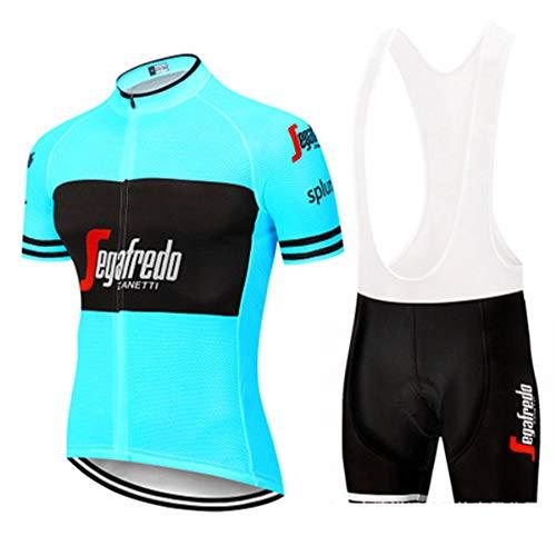 YDJGY Conjunto Manga Corta Ciclismo Jersey