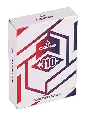Copag 310 Alpha - Cardistry Spielkarten, mit True Linen B9 Finish