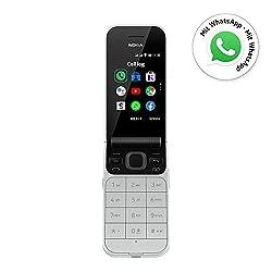 Nokia 2720 Flip Klapphandy (7,1cm (2,8 Zoll), 4GB Interner Speicher, 512MB RAM, Dual-SIM, KaiOS) grau