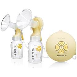 Medela Swing Maxi - Extractor de leche eléctrico con tecnología de 2 fases y tetina Calma incluida