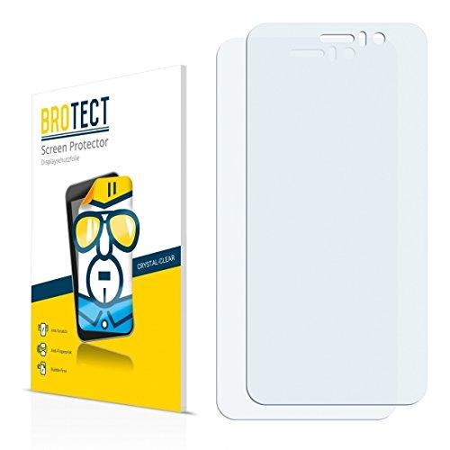 2X BROTECT HD Clear Bildschirmschutz Schutzfolie für Jiayu G5 Basic (kristallklar, extrem Kratzfest, schmutzabweisend)