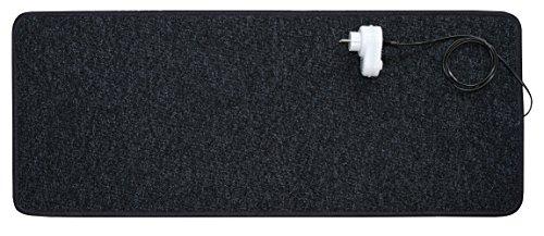 INrot Heiz Systeme Infrarot Teppichheizung mit 140 Watt Leistung inclusive Dimmer, 40 x 100 cm, - Entflammbar Carbon X-schwer