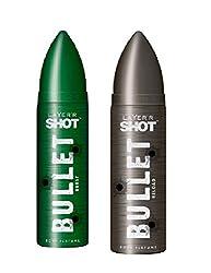 Layerr Shot Bullet Reload & Burst Deodorant For Men ( pack of 2 )