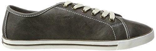 TOM TAILOR Damen 2793102 Sneaker Grau (Grey)