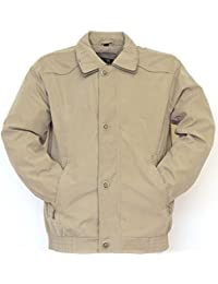 NEW MEN'S CLASSIC KELLY LIGHTWEIGHT SUMMER CASUAL STYLE JACKET SIZES S - XXL (M, STONE)