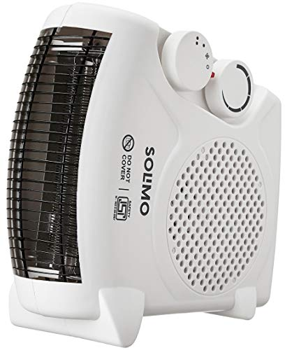 Amazon Brand – Solimo 2000-Watt Room Heater (White)
