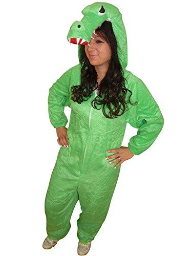 PUS Krokodil-e Kostüm-e, An64 Gr. M-L, Kat. 3, Achtung: B-Ware Artikel. Bitte Artikelmerkmale lesen! Erwachsene, Frau-en und Männer, Tier-e Fasnacht-s Fasching-s Karneval-s Geburtstag-s - Alligator Kostüm Für Erwachsene
