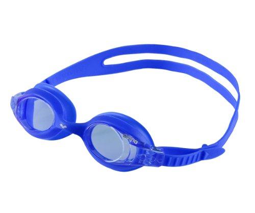 arena Kinder Unisex Training Freizeit Schwimmbrille X Lite Kids (UV-Schutz, Anti-Fog, Harte Gläser), Blue-Blue (77), One Size