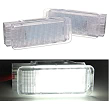 VIGORFLYRUN PARTS LTD 2pcs LED Iluminación Led para Maletero para Coche, para P-eugeot