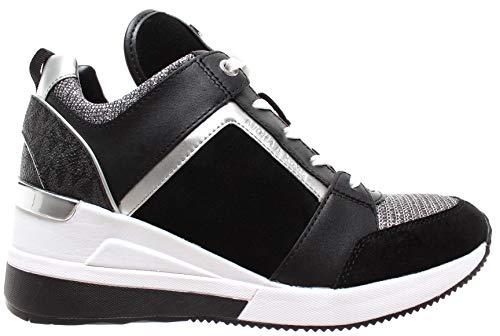 22d841e7ea Zapatos de Mujer Zapatilla Georgie Negro Blanco Michael Kors Otoño Invierno  2019