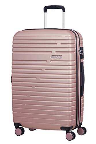 American Tourister Aero Racer Spinner 68 Expandable - 3.6 Kg Bagaglio a Mano 75.5 Liters, Rosa (Rose Pink)