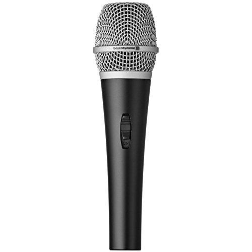Beyerdynamic Kabelgebundenes dynamisches Vokalmikrofon TGV 30DS mit Ein/Aus-Schalter Lautsprecher-erweiterung Klammern
