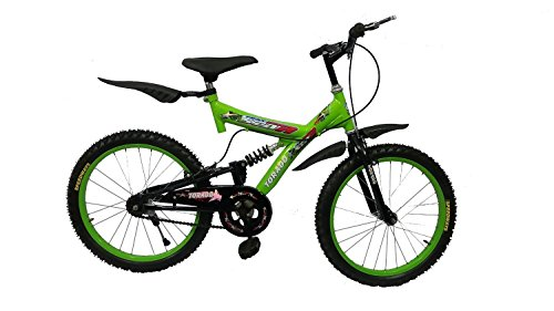 Torado Muscular 20 Inches Bicycle for 7-10 Years Boys (Green)