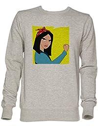 Pouvez Unisexe Faire Homme Mulan Shirt Sweat Jersey Il Nous Gris 64d7Iwfq