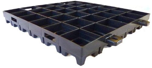 WKH GmbH 1 qm (4 Platten) Medium Paddockplatten - Rasengitter - Reitplatzgitter - Rasenwabe - Kies.- und Splittbefestigung