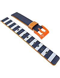 Q & Q Smil Solar para Pulsera Reloj de Pulsera Textil/plástico Mix Banda 14mm 26504