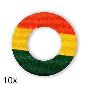 41ITnPYpvUL. SS300  - Freestyle Libre Fixierungstapes (10 Stück) - Rainbow | Diasticker®