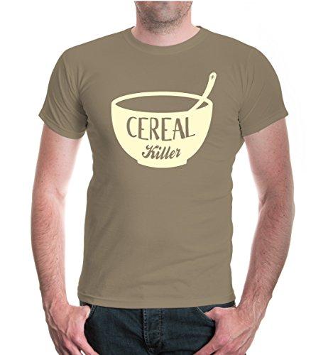 Preisvergleich Produktbild T-Shirt Cereal Killer-L-Khaki-Beige