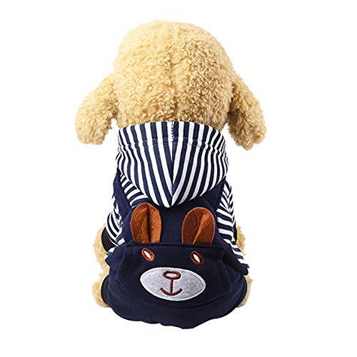 Niedliche Kostüm Für Kaltes Wetter - TJW Haustier-Pullover für Hunde und Katzen,