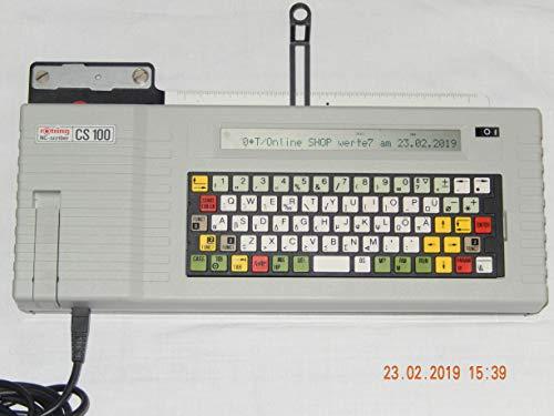 ROTRING NC Scriber CS100 mit 4 kilobyte Speicher wird mit Netzteil und Handbuch als Scanbild gesendet -