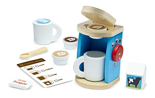 Melissa-and-Doug-Wooden-Brew-and-Serve-Coffee-Set-Multi-Color