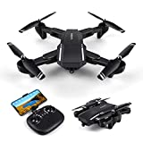 LBLA Drone With Camera Live Video,WiFi FPV Quadcopter with 120° Wide-Angle  720P HD